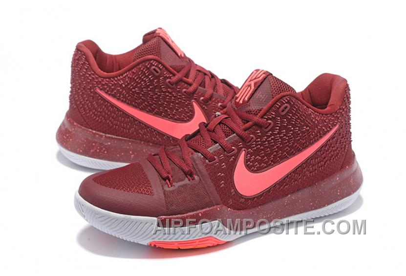 half off 11f37 0dbd5 low price nike kyrie 3 mens basketball shoes burgundy cheap to buy hdadk  c2df6 a937c