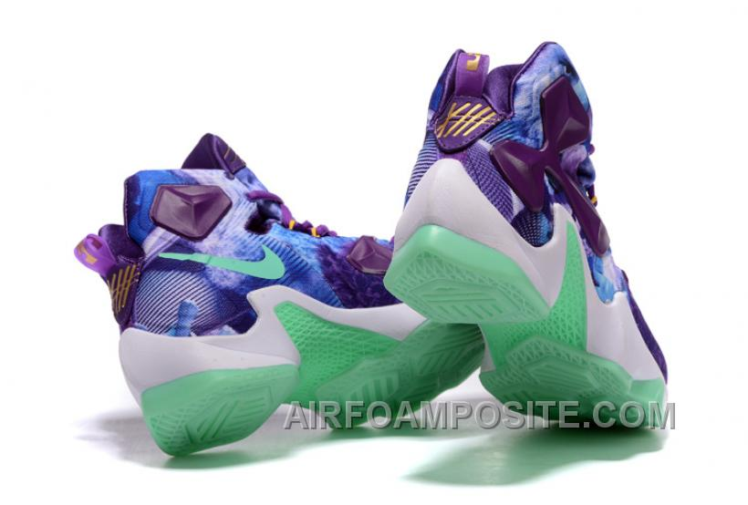 wholesale dealer 5a22b d6248 ... sweden men nike lebron james 13 galaxy purple turquoise basketball shoes  enhis e30fe 3748d
