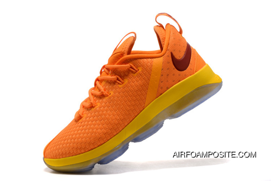 0fc1ffbac726 2018 Nike Lebron 14 Low Bright Yellow Discount