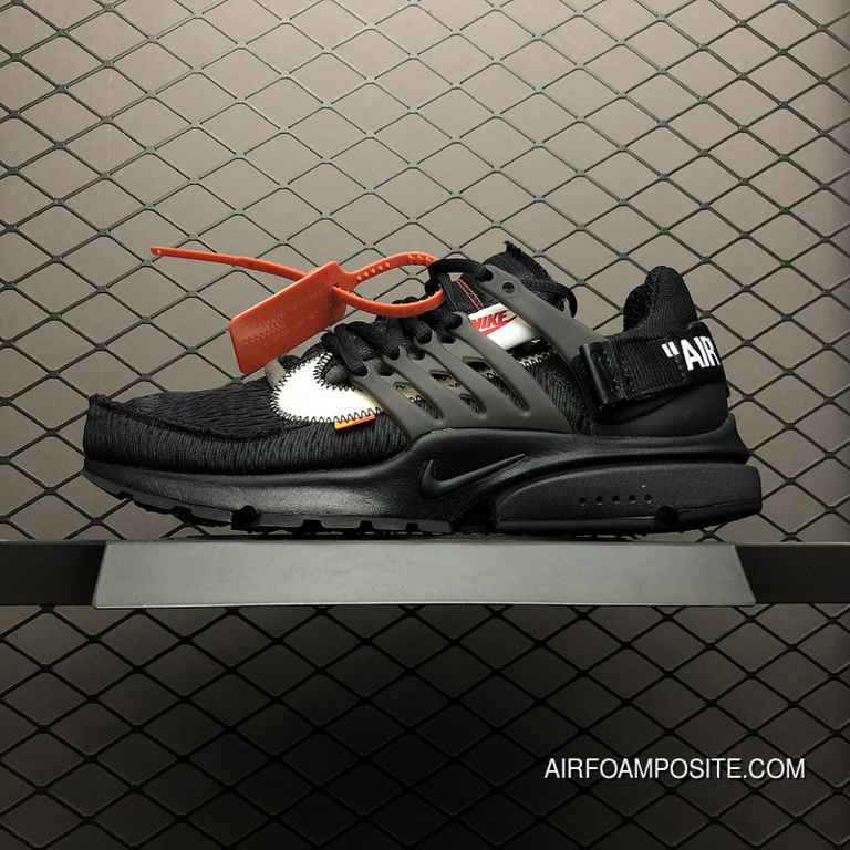 sports shoes 86f0a 8202a New Release Off-White X Nike Air Presto OW Air Max Zoom Combine Rubber Foam  Bottom AA3830-00213 Size 4
