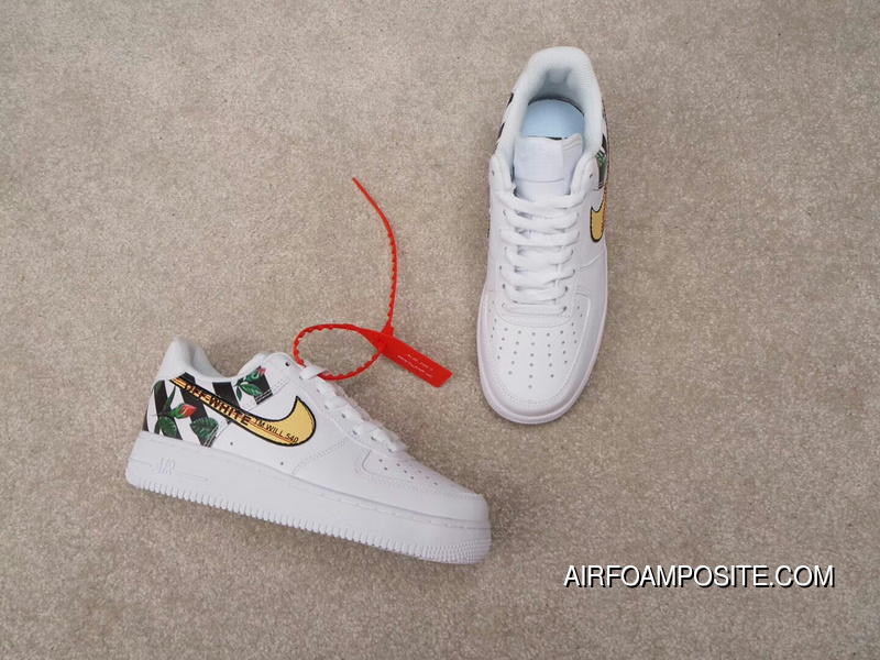 e19752beed0e Independent Creative Customized Virgil Abloh Designer Paired OFF-WHITE X  Nike Air Force 1 Low