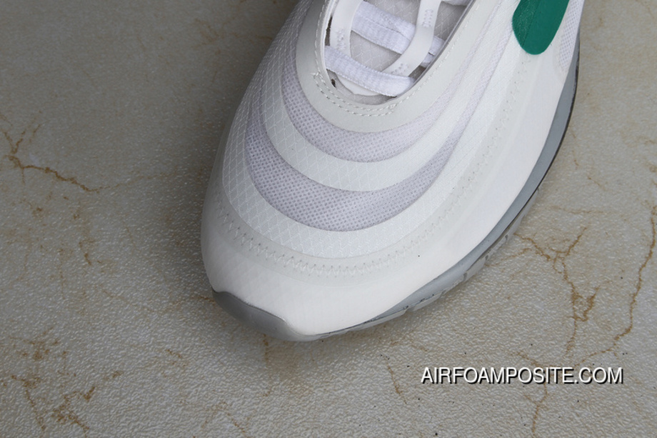 b7b5562c30c P26 OFF-WHITE X Nike Air Max 97 Bullet Running Shoes Collaboration  Publishing Women Shoes